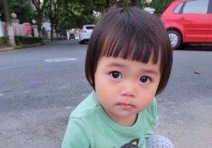 女宝宝剪短发能用锅盖头发型吗 蠢萌锅盖头短发成女童精品发型