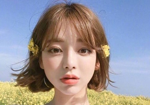 剪个清爽的短发迎接甜蜜春天 听说敢剪短发的女孩子颜值都超高的