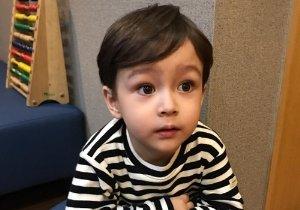 圆脸鹅蛋脸男童可爱刘海短发 幼儿园小男孩梳韩式刘海短发真帅