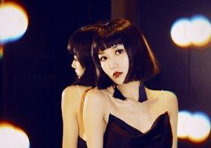 长脸女生短发怎么打理,脸长梳刘海才修颜,秋冬季长脸女生刘海短发设计