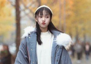 2021年娃娃脸女生小清新长直发新梳法 改变刘海让你魅力百变更时髦