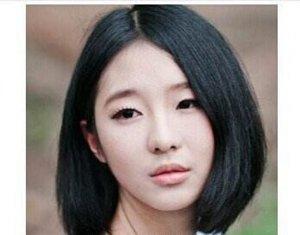适合悬胆鼻子女生的发型 有需要的mm快快学习起来