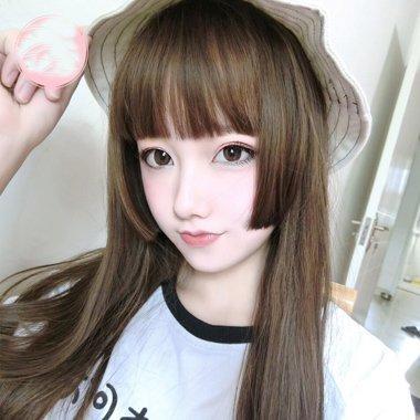女长发有鬓角日式发型 2021齐鬓角日系发型保准能吸你眼球