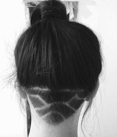 女生两鬓角头发稀疏 秃鬓角怎么扎头发好看