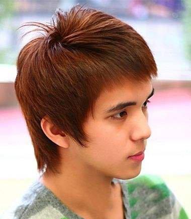 男生短发离子烫效果图 任何发型都不是问题