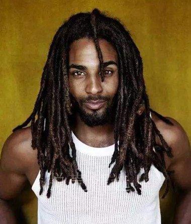 黑人男士脏辫清晰图片 你最爱的是哪种