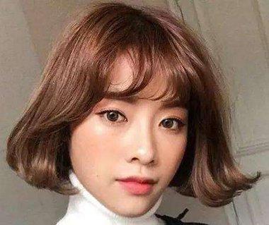 棕色和咖啡色头发对比区别 咖啡棕色头发图片女生