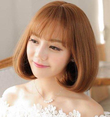 发尾烫c卷的发型图片 2021韩式短发c卷这样烫最美