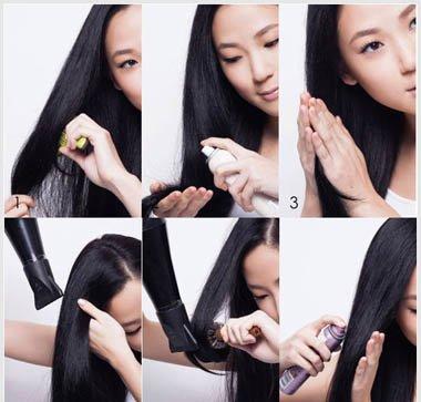 改善天生粗硬发质 可以将自己的头发留长