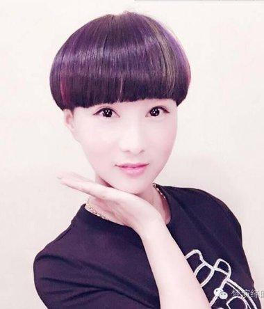 时尚女生短发盖头 2021最新短发盖盖头和颜色一样重要哦