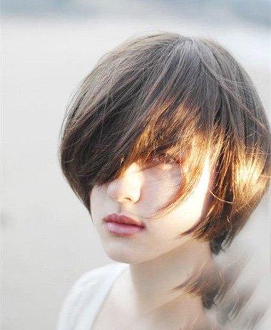 男孩风短发女生图 2021短发最新发型你怎么能轻易错过