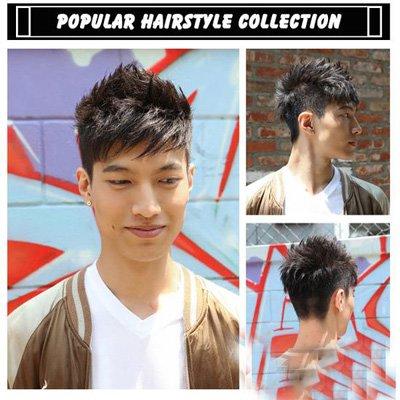 大腮帮方脸男生发型 创造出新颖度的短发系列