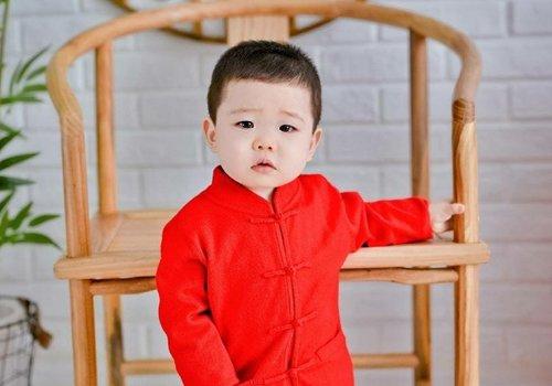 2021年男童小平头发型最新款look 一两岁男宝宝简约可爱短发设计