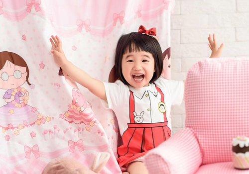 2021年小女孩学生头新造型上线 传统与时尚相结合的女童短发设计