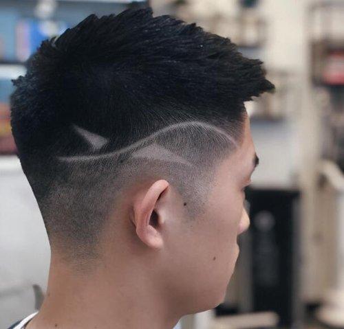 路人甲与校草原来就发型的差距 大学男生梳网红瓜子头酷帅有范儿