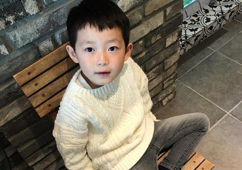 原来小男孩刘海造型这么多 2021年男童韩式刘海短发最新款安利