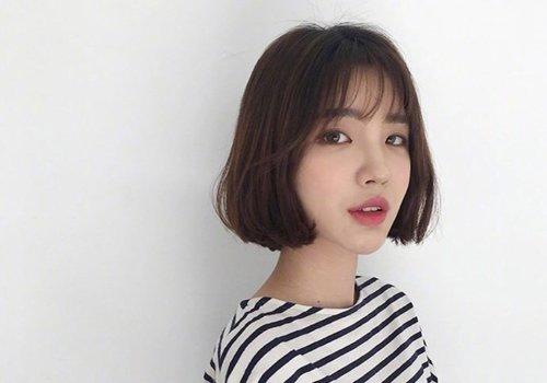2021韩式短发烫发发型称霸流行爆款 吹爆这款让妹纸变美的短烫发