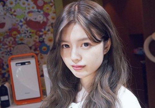 脸圆的女孩能用染发变脸型? 染什么颜色显脸小心里没点数吗