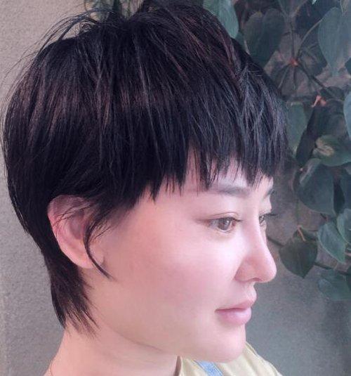 国字脸女生搞定刘海短发怎么梳都时尚 中年国字脸女士适合的刘海短发
