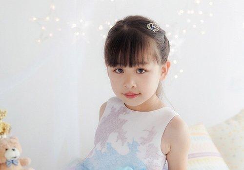 9岁女童日常简单编发设计 小学女生甜美小清新编发发型都是小淑女