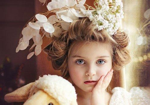 简单又洋气的儿童辫子扎法 小女孩做扎发这么洋气足够了