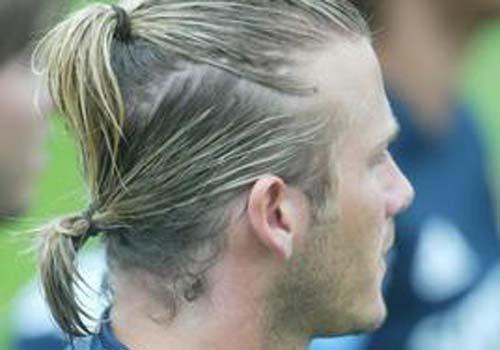 男生凭啥不能扎辫子 学偶像贝克汉姆扎辫子发型火爆了