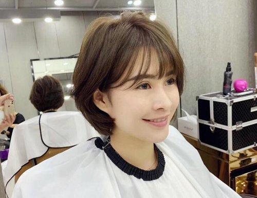适合大脸女生的波波头短发设计 全新女生BoBo头造型不止适合大脸盘