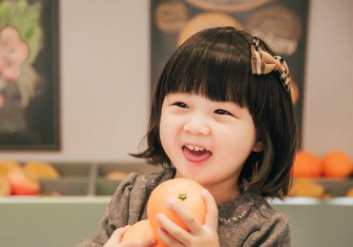 小女孩齐刘海波波头秋季正流行 女童甜美可爱短发设计献给4岁小萝莉